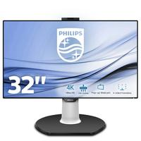 Philips E-line 329P9H/00 32 inch IPS monitor - Speakers